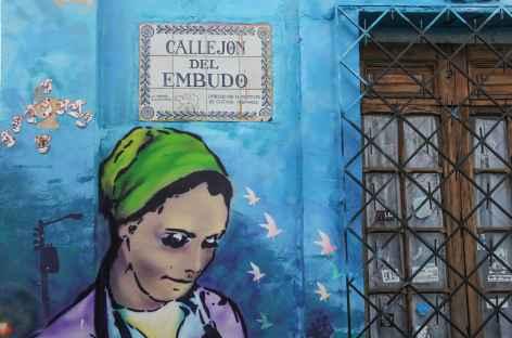 Mur peint à Bogota - Colombie -