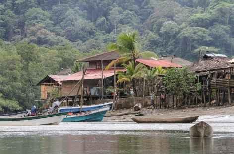 Village afro de la côte Pacifique - Colombie -