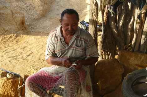 Désert de la Guajira, rencontre avec un pêcheur -