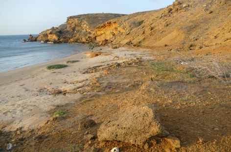 Désert de la Guajira, crique sauvage -