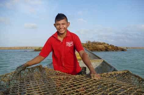 Désert de la Guajira, partie de pêche -