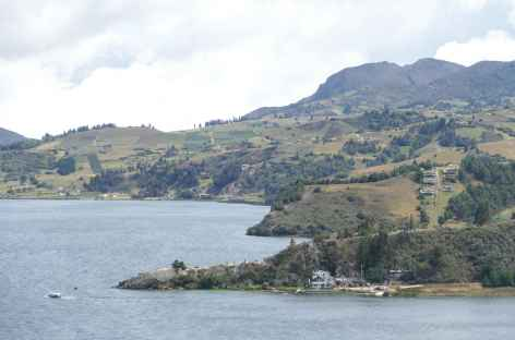 Colombie, lac Tota -