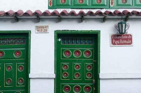 Colombie, village de Mongui -