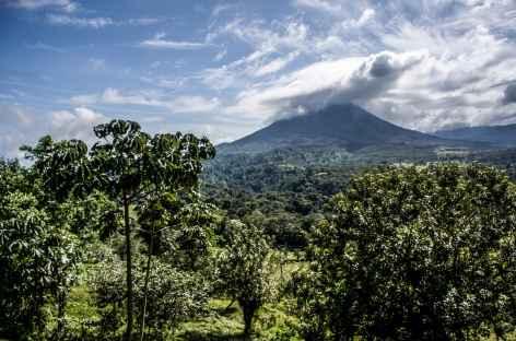 Jolie vue sur le volcan Arenal - Costa Rica -