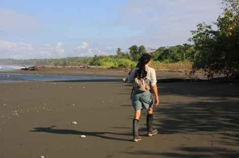 Parc National Corcovado, sur la plage Sirena - Costa Rica -