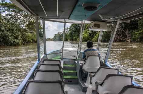 Navigation sur la rivière Tarcoles - Costa Rica -