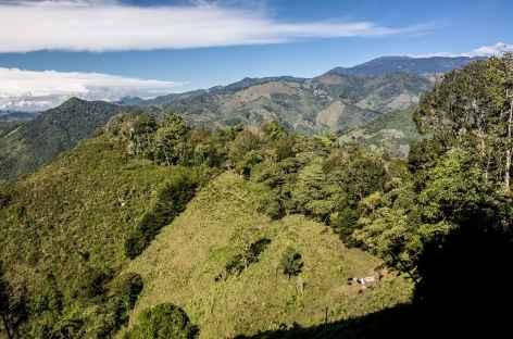 Sur la route dans la Cordillère Talamanca - Costa Rica -