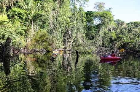 Balade en canoë sur les canaux de Tortugero - Costa Rica -