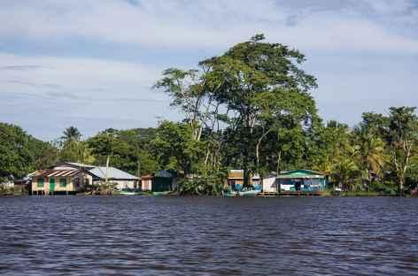 Arrivée dans le village de Tortugero - Costa Rica -