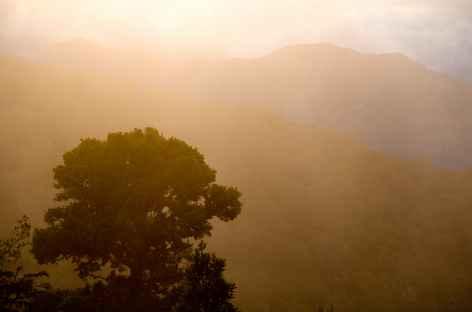 Coucher de soleil à Dota - Costa Rica -