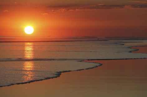Coucher de soleil sur une plage du Pacifique - Costa Rica -