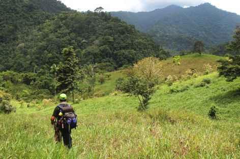 Trek, arrivée à La Chaqueta - Costa Rica -