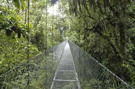 Balade ludique sur des passerelles (région de l'Arenal) - Costa Rica -