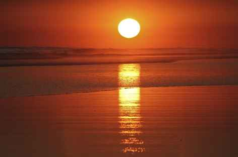 Coucher de soleil sur les plages du Pacifique - Costa Rica -