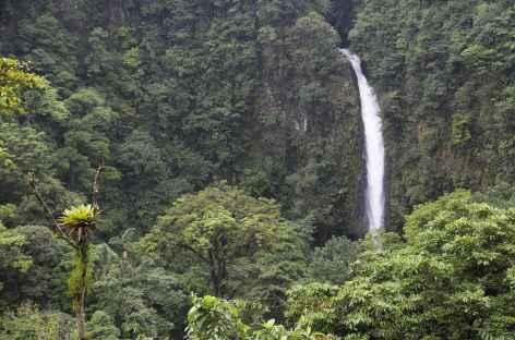 La cascade La Fortuna au pied du Cerro Chato - Costa Rica -