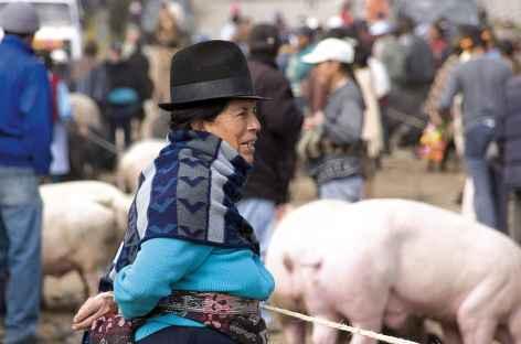 Ambiance de marché - Equateur -
