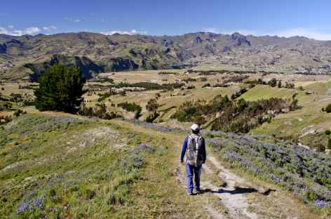 Balade vers Tigua - Equateur -