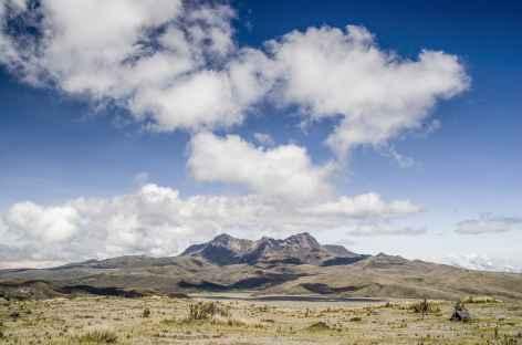 Vue sur le volcan Ruminahui - Equateur -
