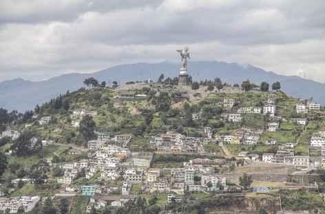 Quito, vue sur le Panecillo - Equateur -