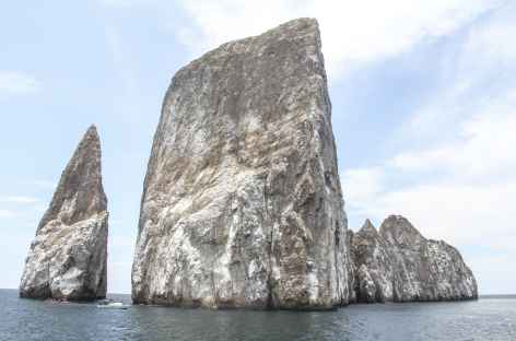 Archipel des Galapagos, arrivée à Léon Dormido (île San Cristobal) - Equateur -
