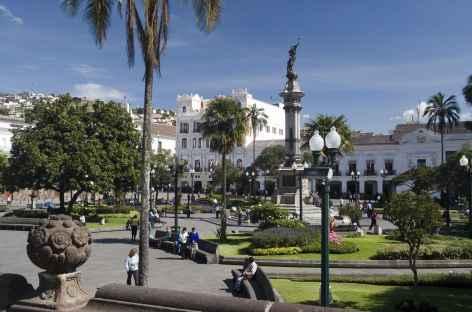 La ville coloniale de Quito - Equateur -