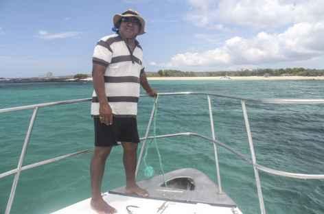 Archipel des Galapagos, arrivée sur de jolies plages (île San Cristobal) - Equateur -