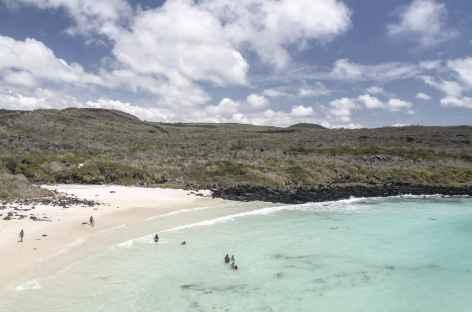 Archipel des Galapagos, la splendide plage de Puerto Chino (île San Cristobal) - Equateur -