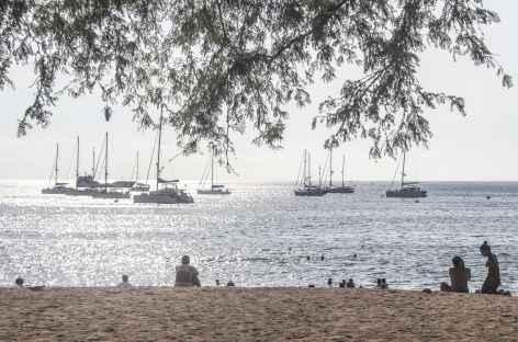 Archipel des Galapagos, la jolie plage familiale de Playa Mann (île San Cristobal) - Equateur -