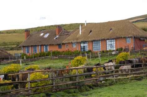 La belle hacienda El Porvenir au pied du Cotopaxi - Equateur -