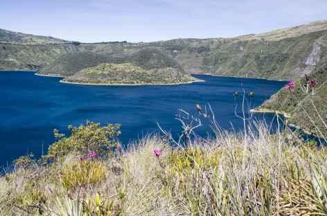 Balade sur les bords de la lagune Cuicocha - Equateur -