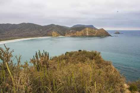 La plage Los Frailes - Equateur -