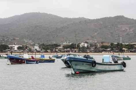 Le port de Puerto Lopez - Equateur -