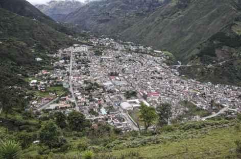 La petite ville de Banos - Equateur -