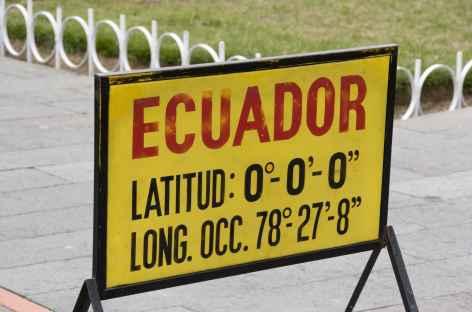 La ligne équinoxiale - Equateur -