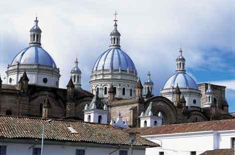 La cathédrale de Cuenca - Equateur -