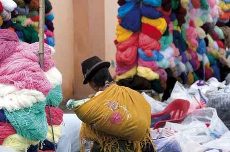Sur le marché de Saquisili - Equateur -