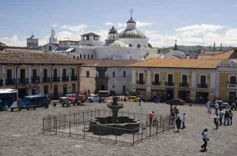 La belle ville coloniale de Quito - Equateur -