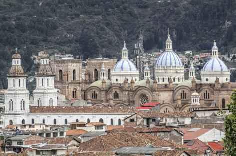 Panorama sur les toits de Cuenca - Equateur -