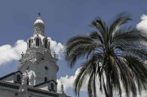Quito, entre palmiers et église coloniale - Equateur -