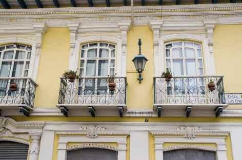 Cuenca, facade colorée - Equateur -