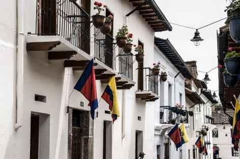 Quito, la calle Ronda - Equateur -