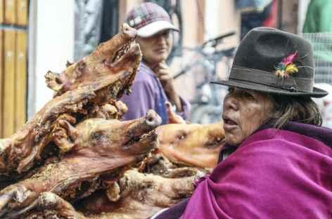 Ambiance sur un marché - Equateur -