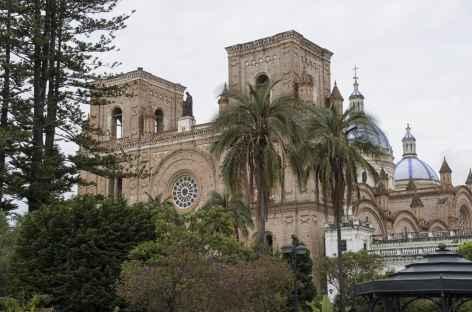 Cuenca, vue depuis le parc Calderon - Equateur -