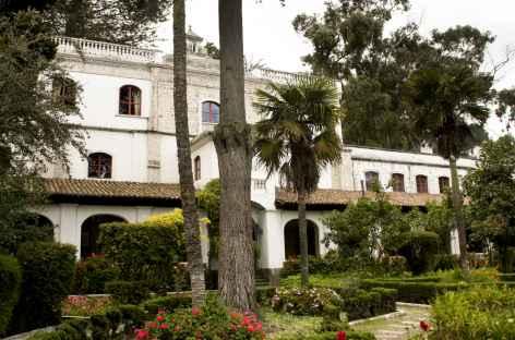 Jardin de l'hacienda La Cienaga - Equateur -