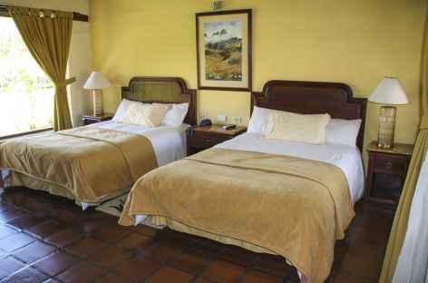 Une chambre à l'hacienda Abraspungo - Equateur -