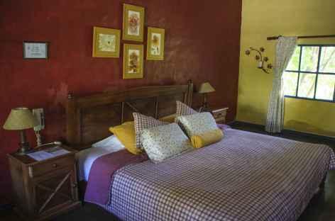Une chambre à l'hacienda Pinsaqui - Equateur -