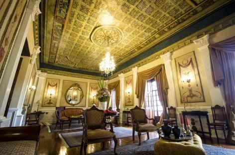 L'intérieur de l'hôtel Santa Lucia - Equateur -