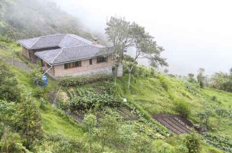 Notre maison pour la nuit à Yunguilla - Equateur -