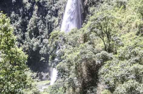 La belle cascade Balade du rio Pita - Equateur -