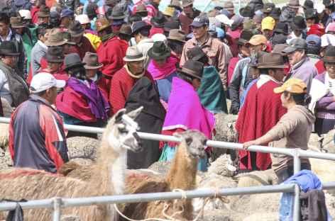 Sur le marché de Guamote - Equateur -